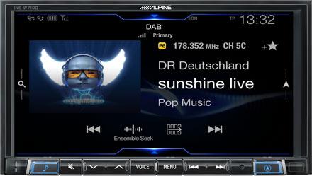 DAB+ Digital Radio - INE-W710D