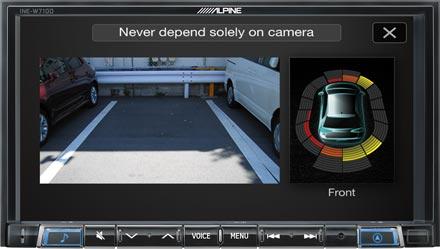 Drive-Assist Cameras - INE-W710D