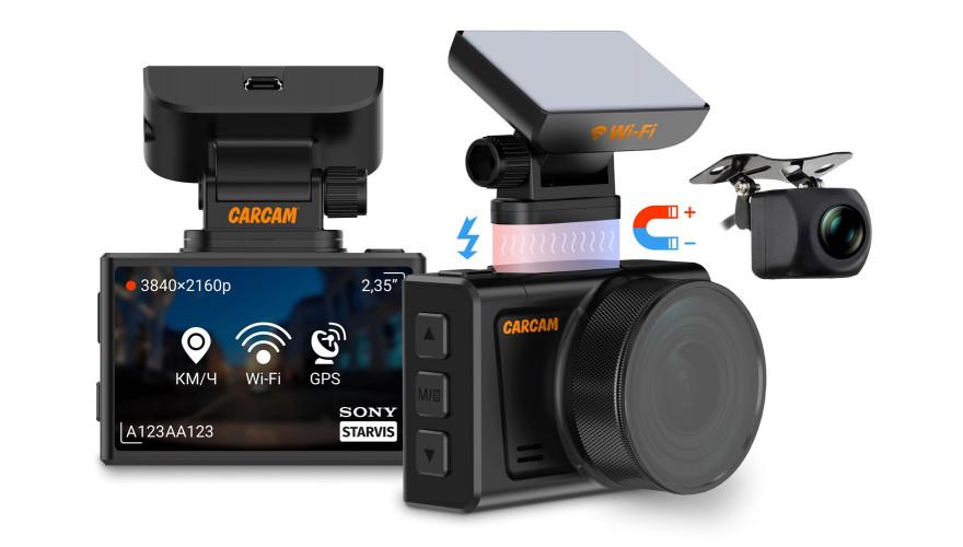 Купить автомобильный видеорегистратор CARCAM Q6
