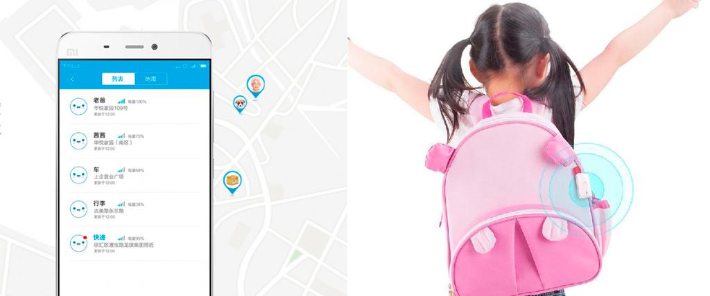 Xiaomi GPS Tracker использует две спутниковые системы - GPS и ГЛОНАСС