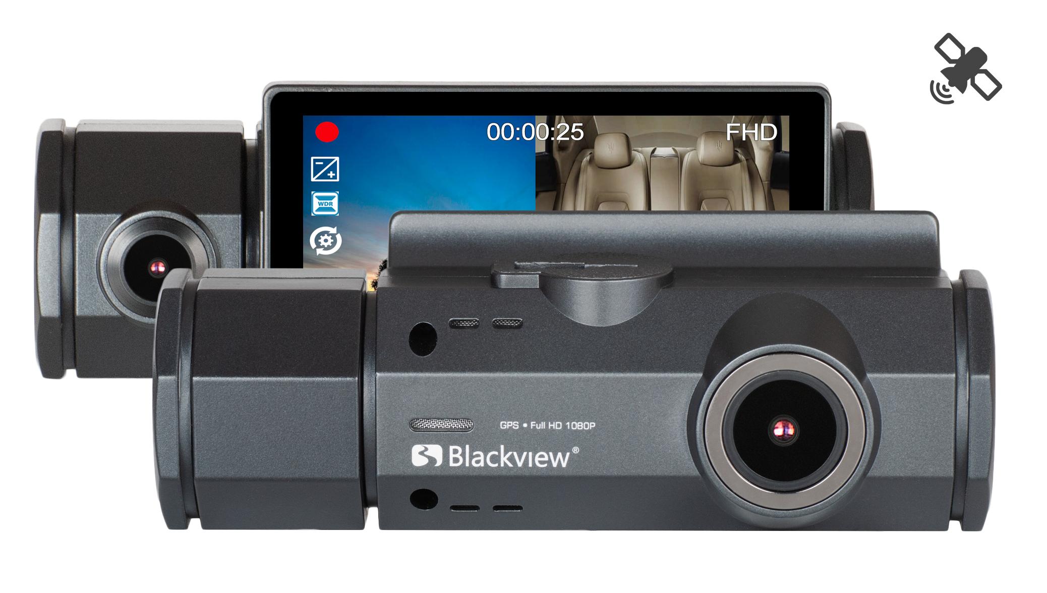 Blackview XZ5 DUAL GPS - 2х-камерный видеорегистратор c GPS