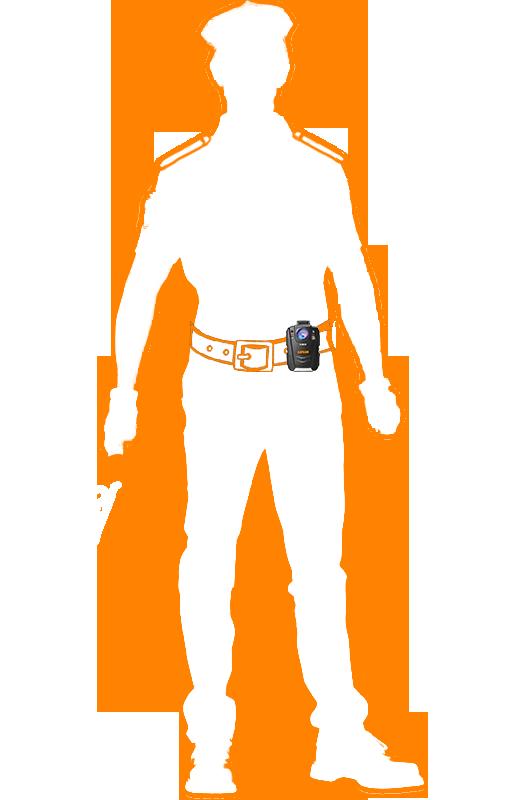 крепленпие на ремень для персонального видеорегистратора КАРКАМ КОМБАТ 2s